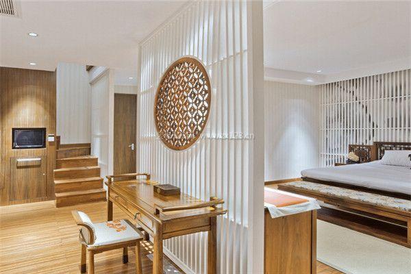 现代中式风格卧室装修隔断设计-卧室装修隔断有哪些 卧室隔断装修设计