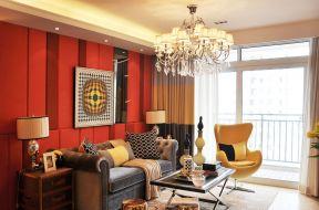 漂亮的客厅窗帘装修效果图片