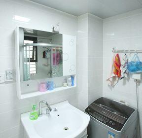 小户型卫生间简单卫生间集成吊顶装修效果图-每日推荐