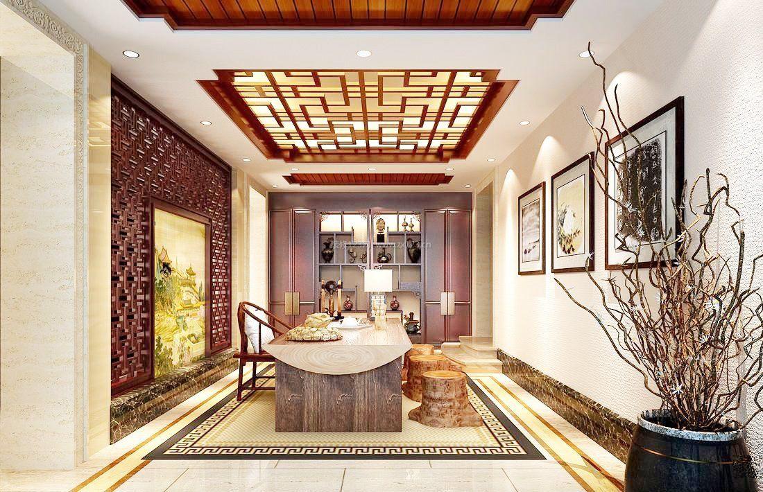 新中式风格装饰元素杭州独栋别墅装修