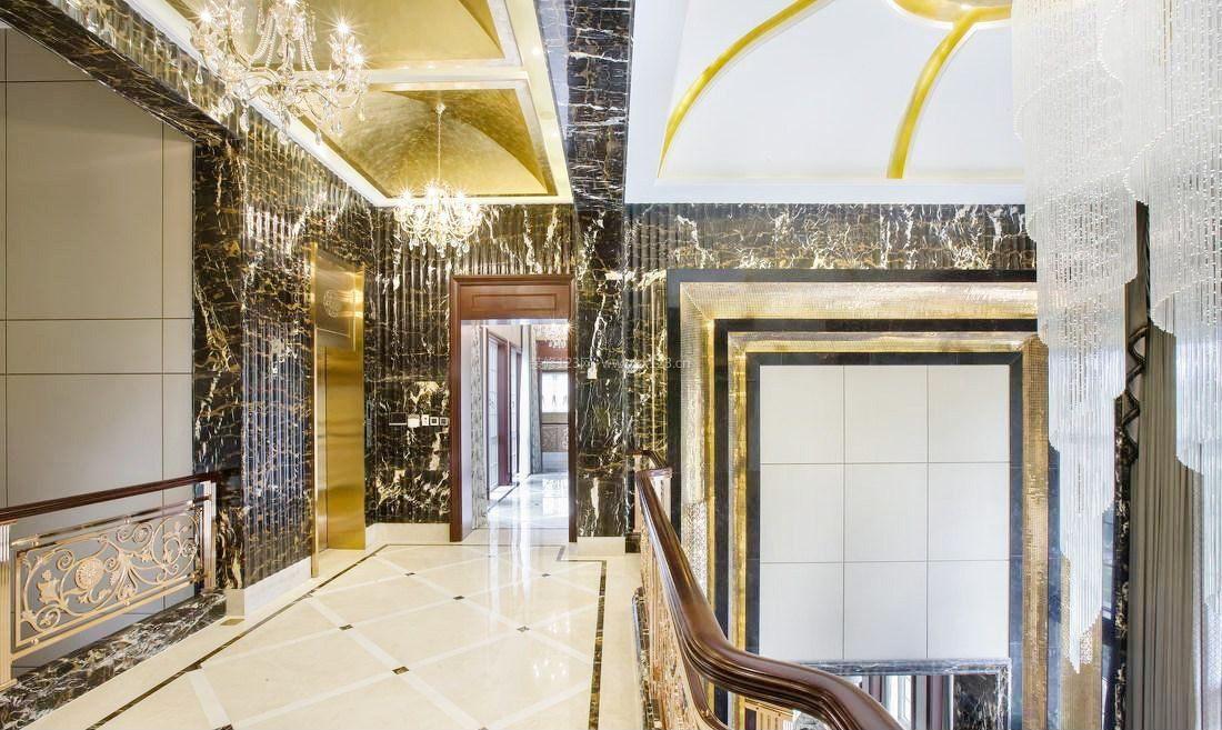 别墅装饰装修室内瓷砖效果图片