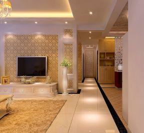 新房欧式装修效果图 三室两厅装修效果