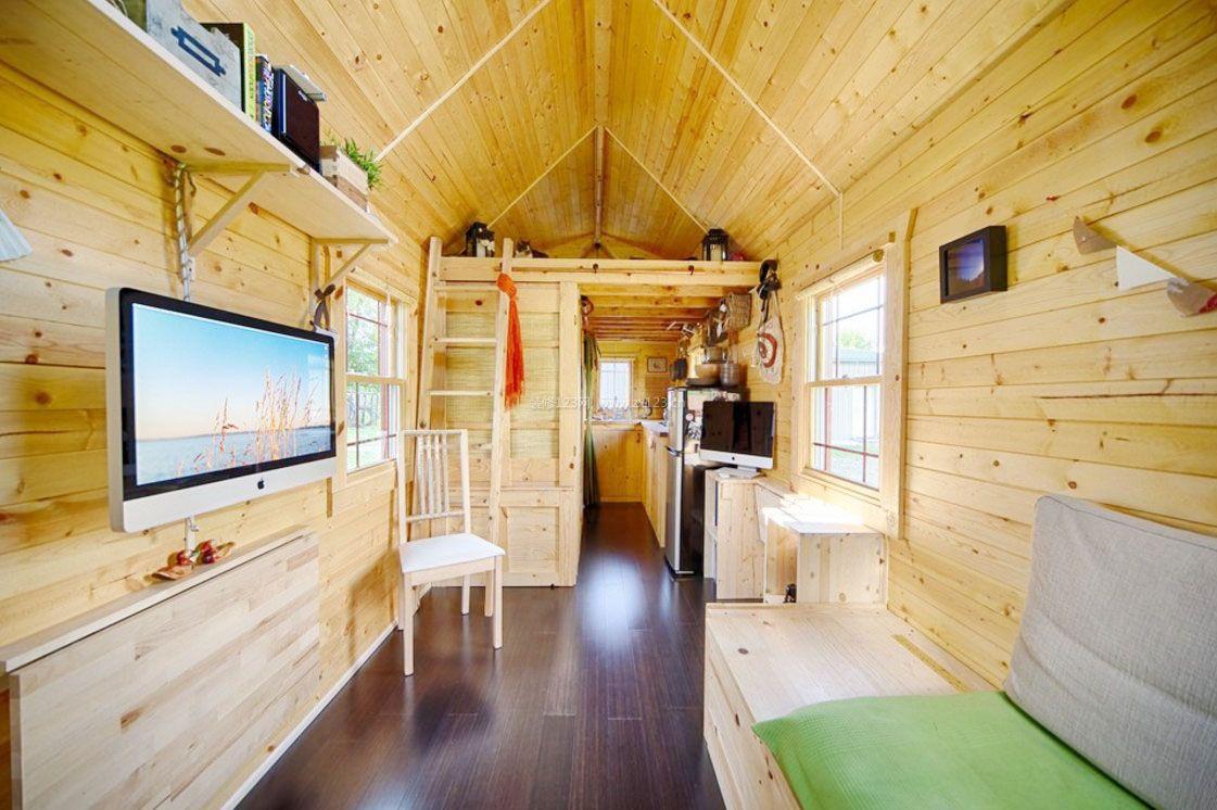 6平米小木屋室内房间装修效果图