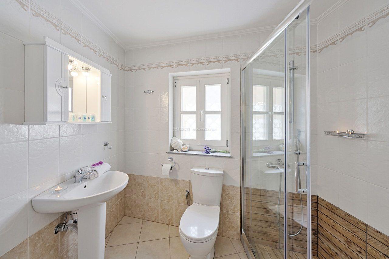 6平米家装卫生间瓷砖设计图片2017