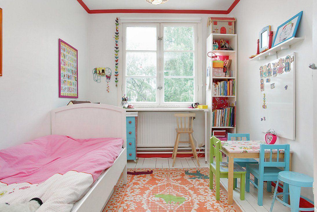 6平米小房间女孩卧室装修效果图