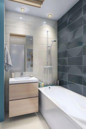 2017北欧风格的卫生间瓷砖贴图