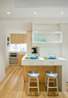 6平米小房间装修效果图 现代厨房餐厅吧台