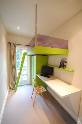 6平米小房间装修效果图 书房卧室一体装修效果图