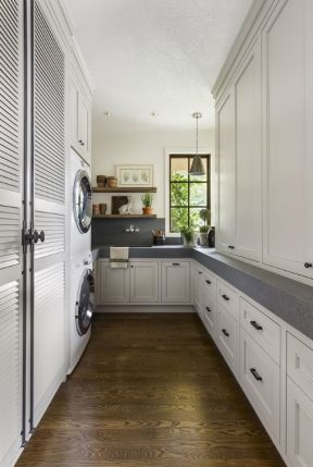 6平米小房间装修效果图 长厨房装修效果图