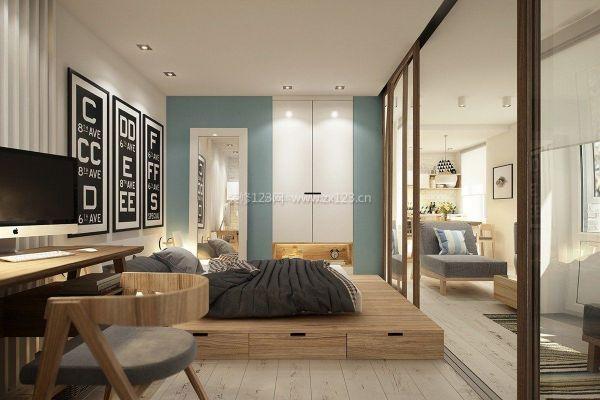 小房间卧室书房装修效果图
