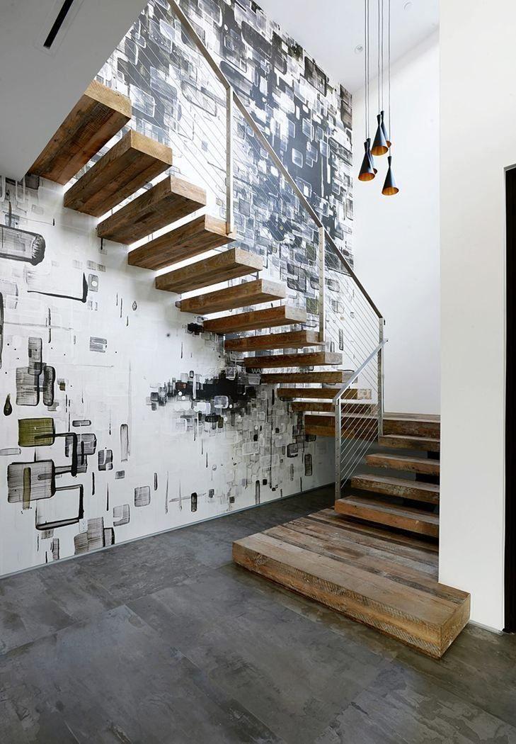 阁楼楼梯装修图片