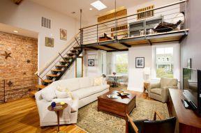 小空間閣樓樓梯設計 頂層小復式裝修效果圖