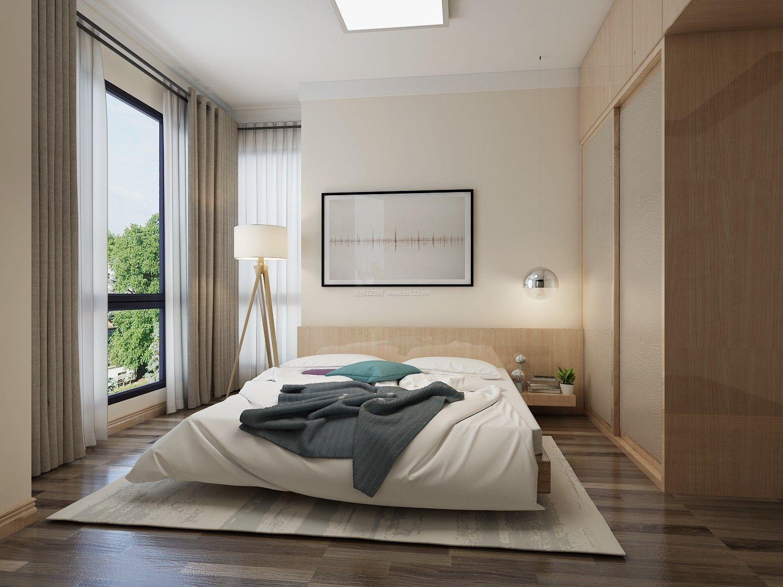 主卧室装修效果图_现代简约主卧室装修效果图