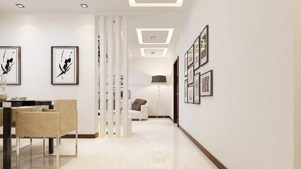 现代简约风格房子走廊装修图
