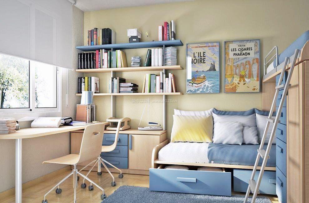 小房间电脑组合柜效果图