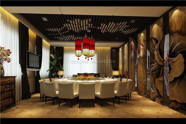 餐饮中式装修设计 中式风格餐饮店如何打造图片