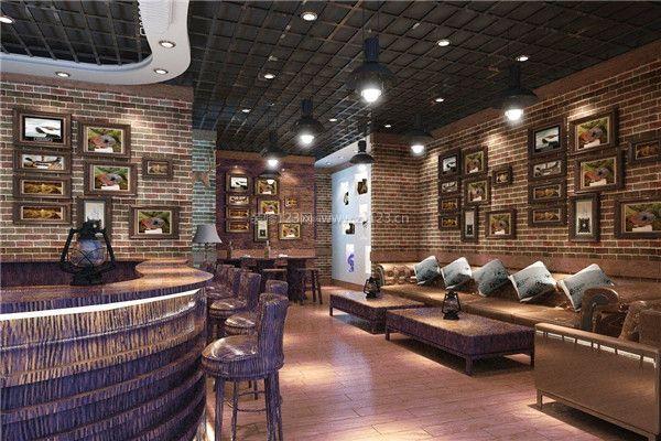 复古酒吧装修设计效果图