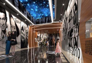 天霸设计公司为防城港商业空间设计项目塑造特色空间