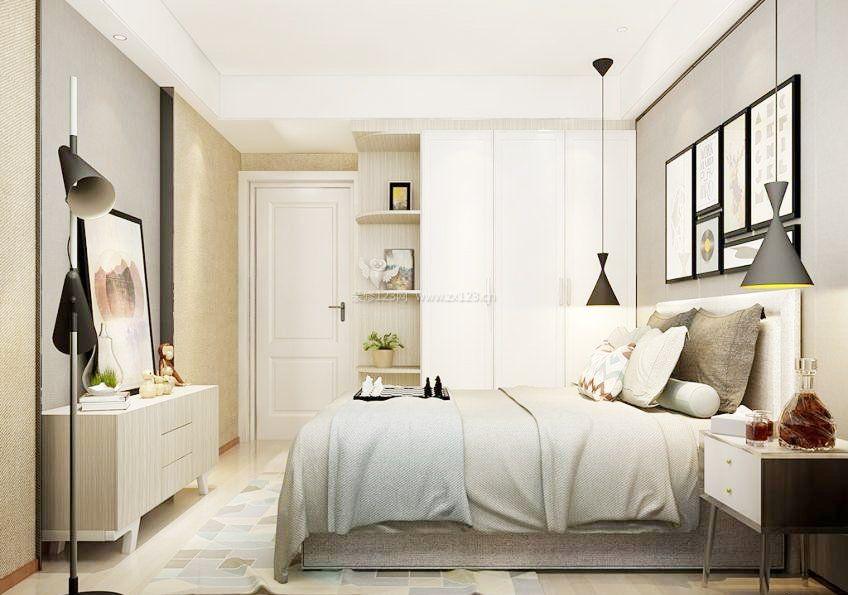 主卧室整体壁柜装修效果图片