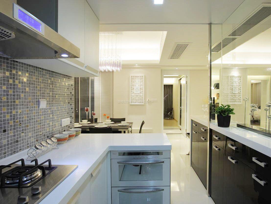 厨房马赛克墙砖贴图现代风格