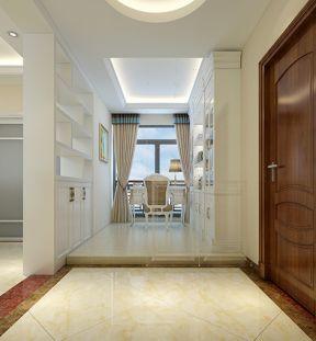115平方房子装修 简约欧式风格装修效果图