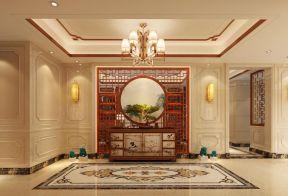 新中式别墅拼花地砖装修效果图大全2017图片图片