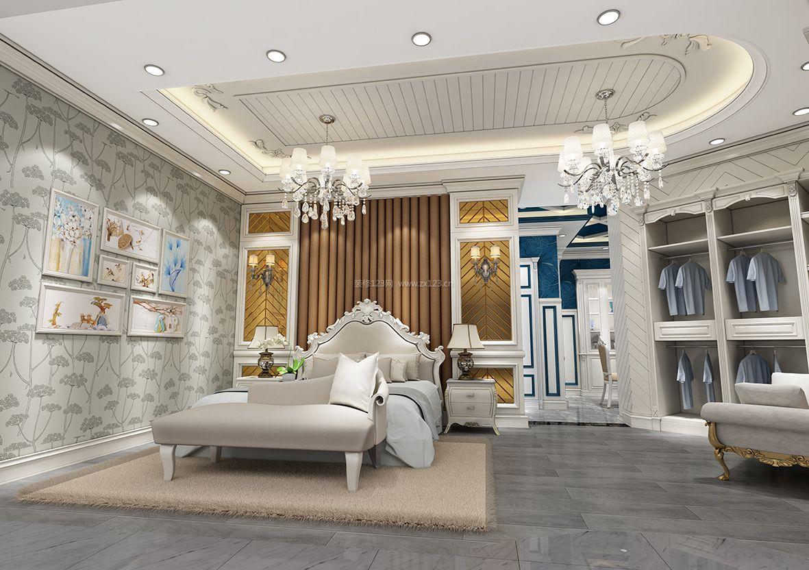 工装效果图 欧式 展厅欧式主卧室装修效果图大全2017图片 提供者