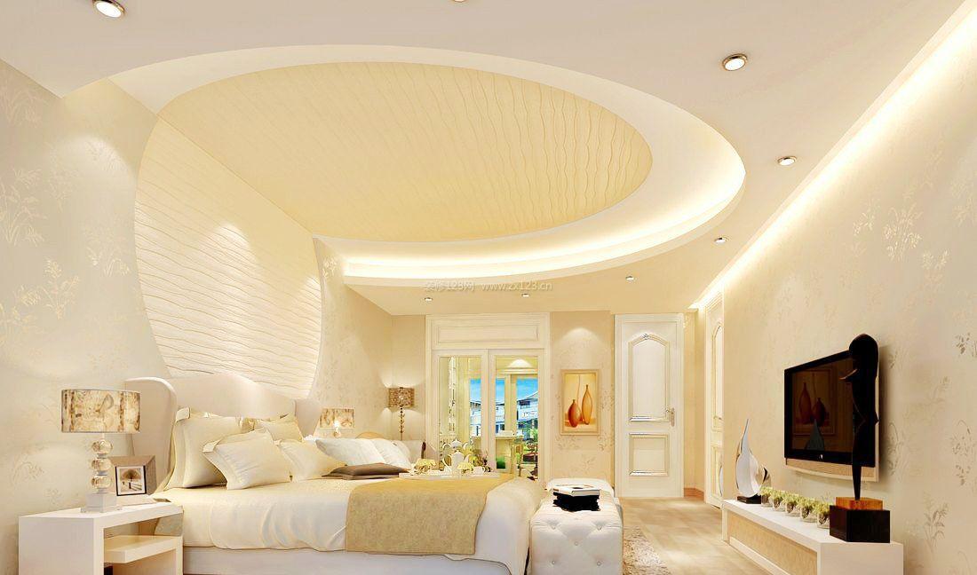 现代大卧室吊顶装修效果图大全图片