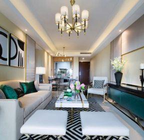 101平米房屋三室两厅客厅装修效果图-每日推荐