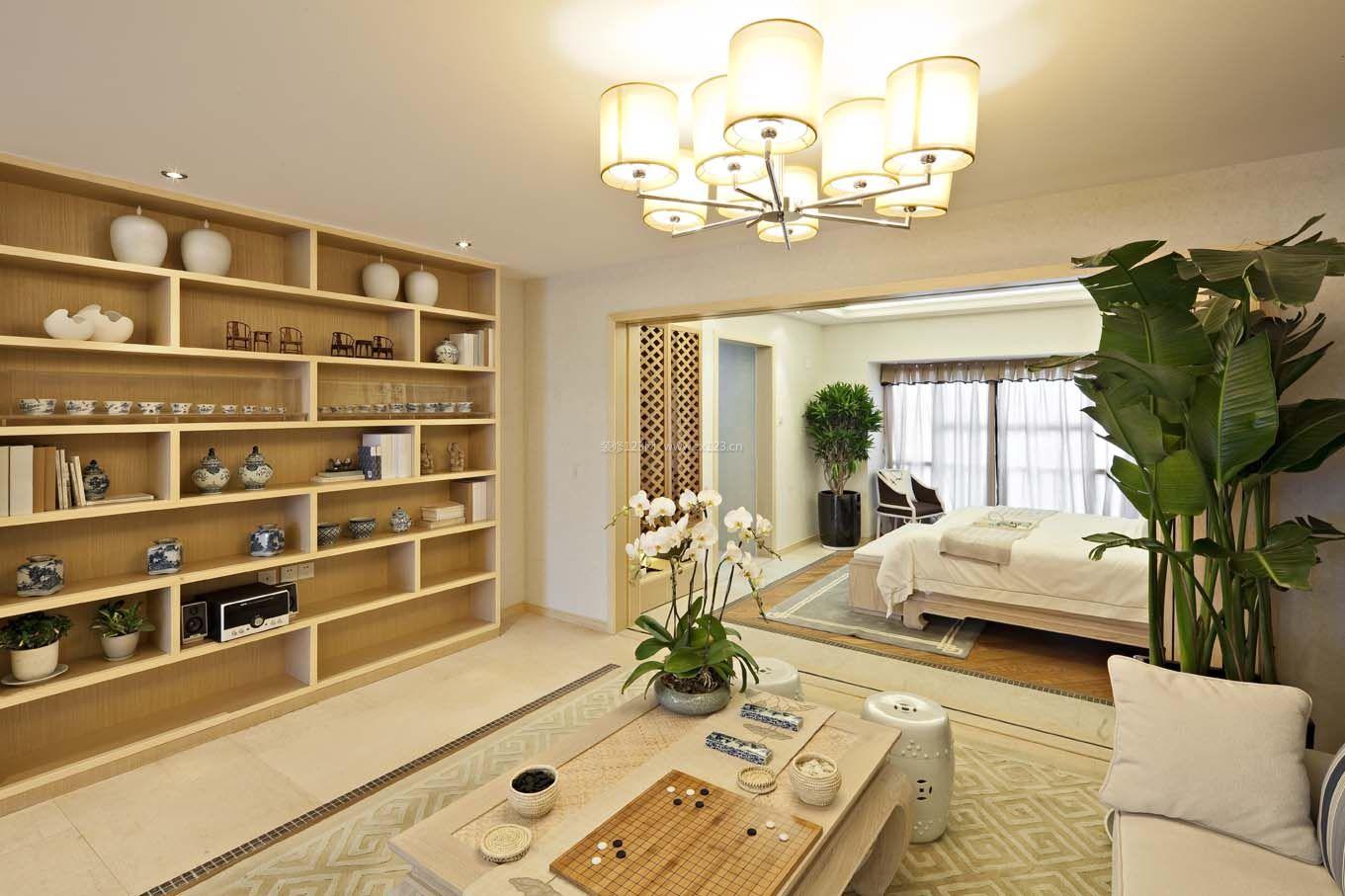 中式田园风格60平米房子装修图片图片