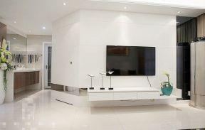房子電視墻裝修 液晶電視墻