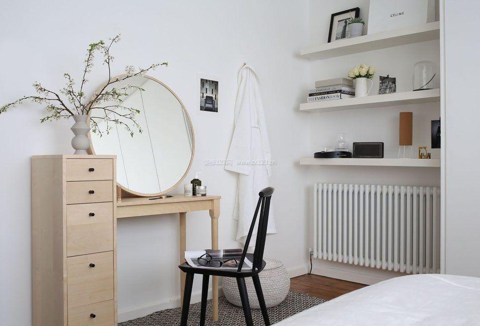 小户型卧室梳妆台装饰效果图片大全