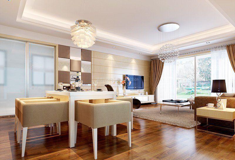 两室一厅时尚现代家装装修效果图大全图片