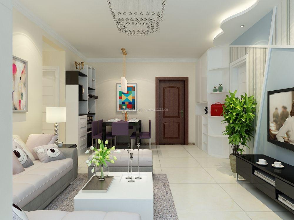 90平方房子装修_90平米两室二厅简装图