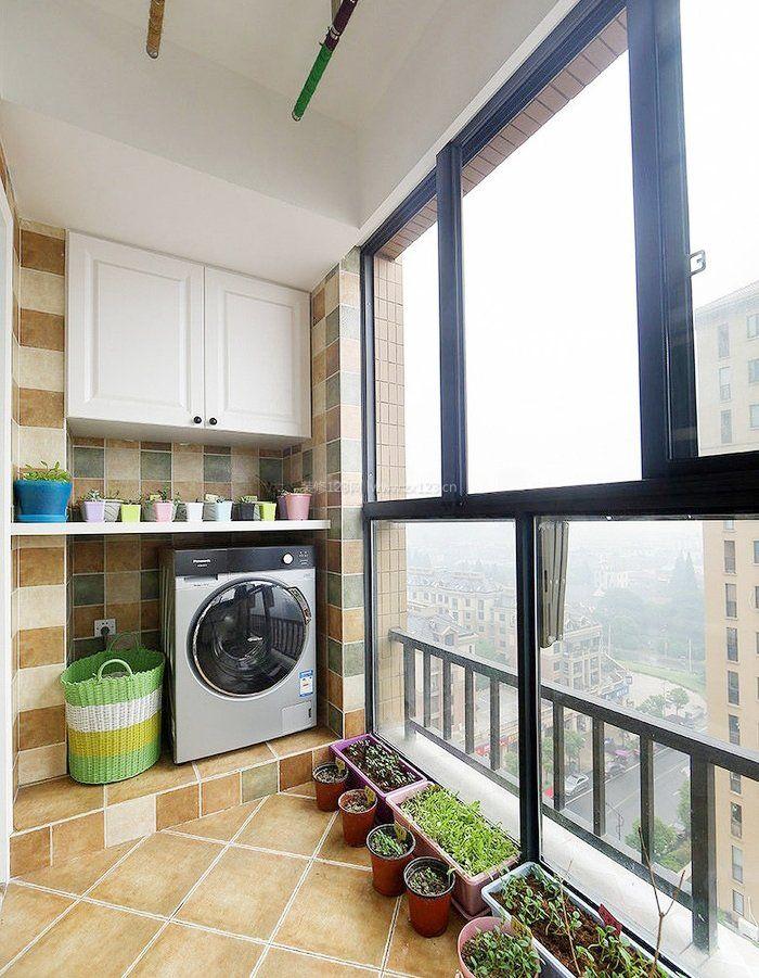 两室一厅阳台种花装修效果图大全图片