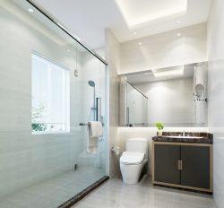 家裝室內衛生間玻璃隔斷圖片