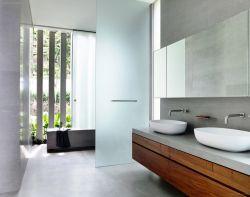 現代簡約家裝衛生間玻璃隔斷圖片大全