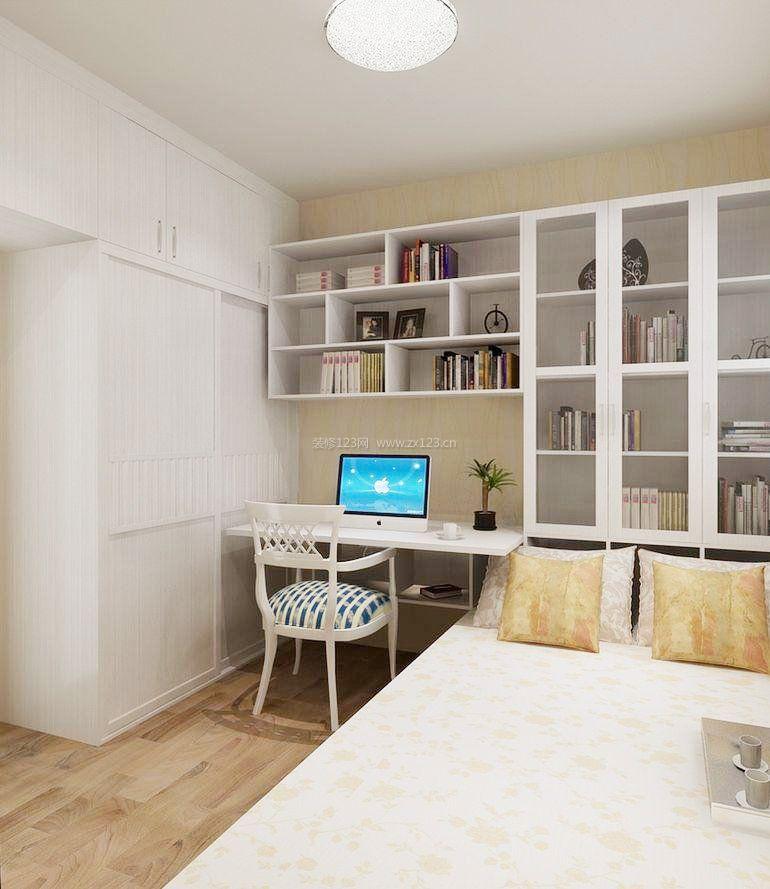 小卧室书柜效果图大全图片图片