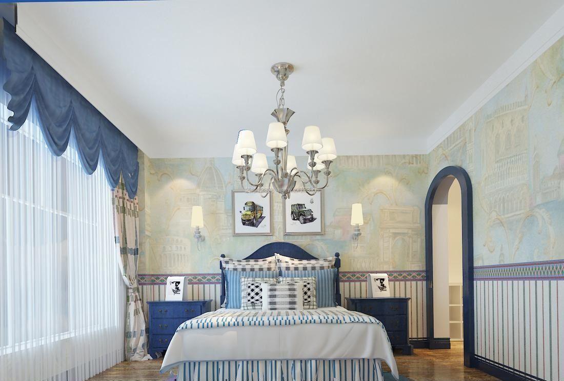 地中海装修风格卧室