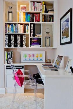 小书房书柜效果图大全图片