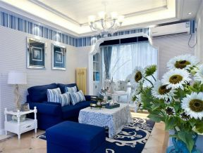 地中海风格家具颜色装修效果图大全图片