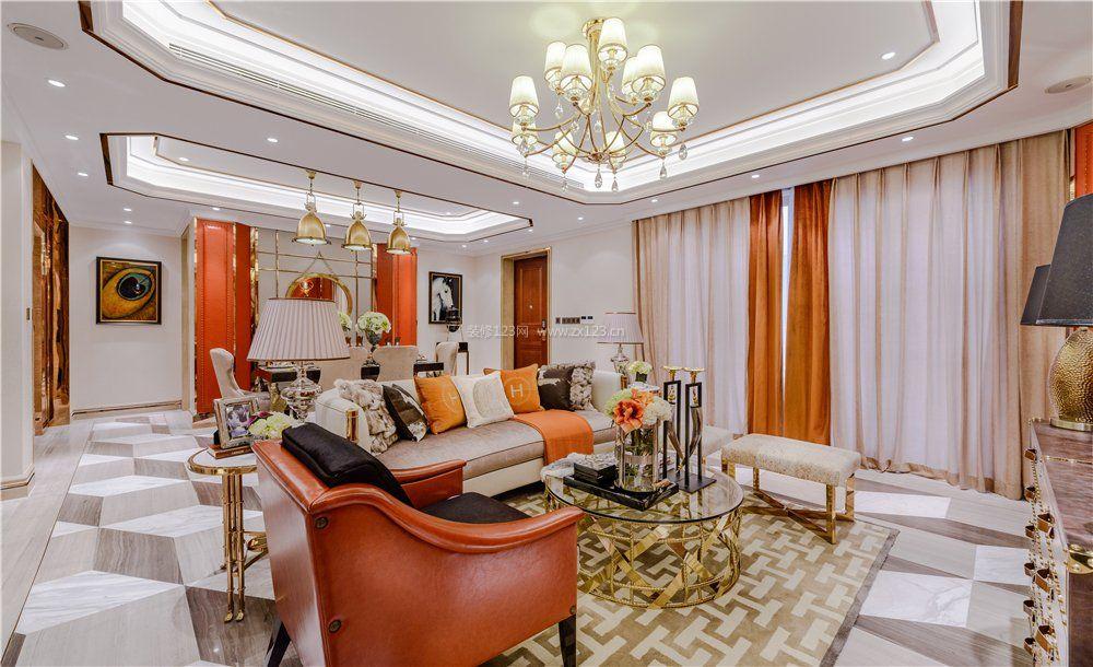 2017法式古典装修风格客厅效果图大全图片图片