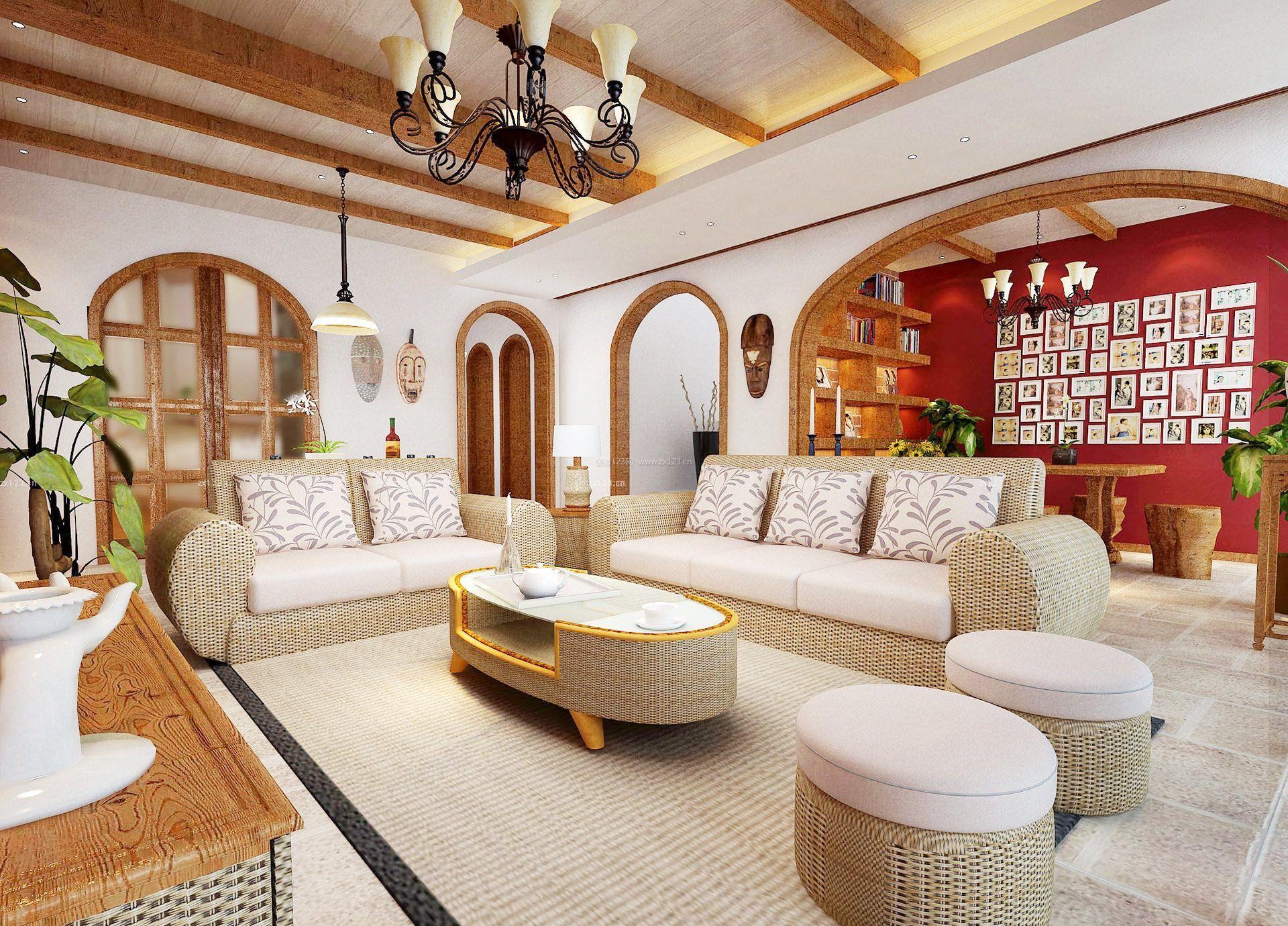 80平方米房屋别墅家装装修效果图大全