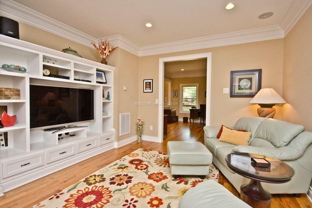 80平方米房屋客厅电视柜装修效果图大全