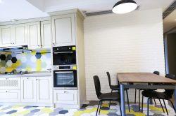 现代北欧风格开放式厨房餐厅装修效果图片图片
