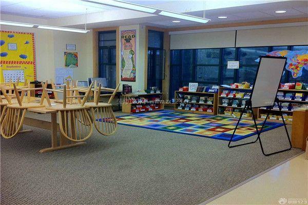 幼儿园学校教室储物柜设计图片