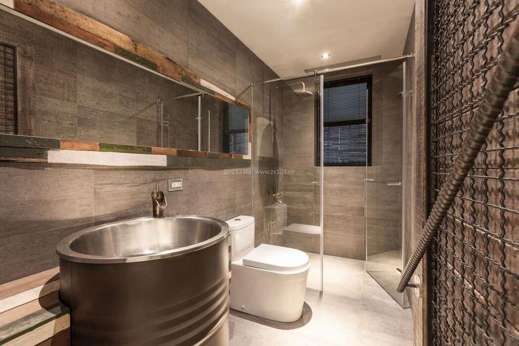 小卫生间淋浴房创意效果图片2017