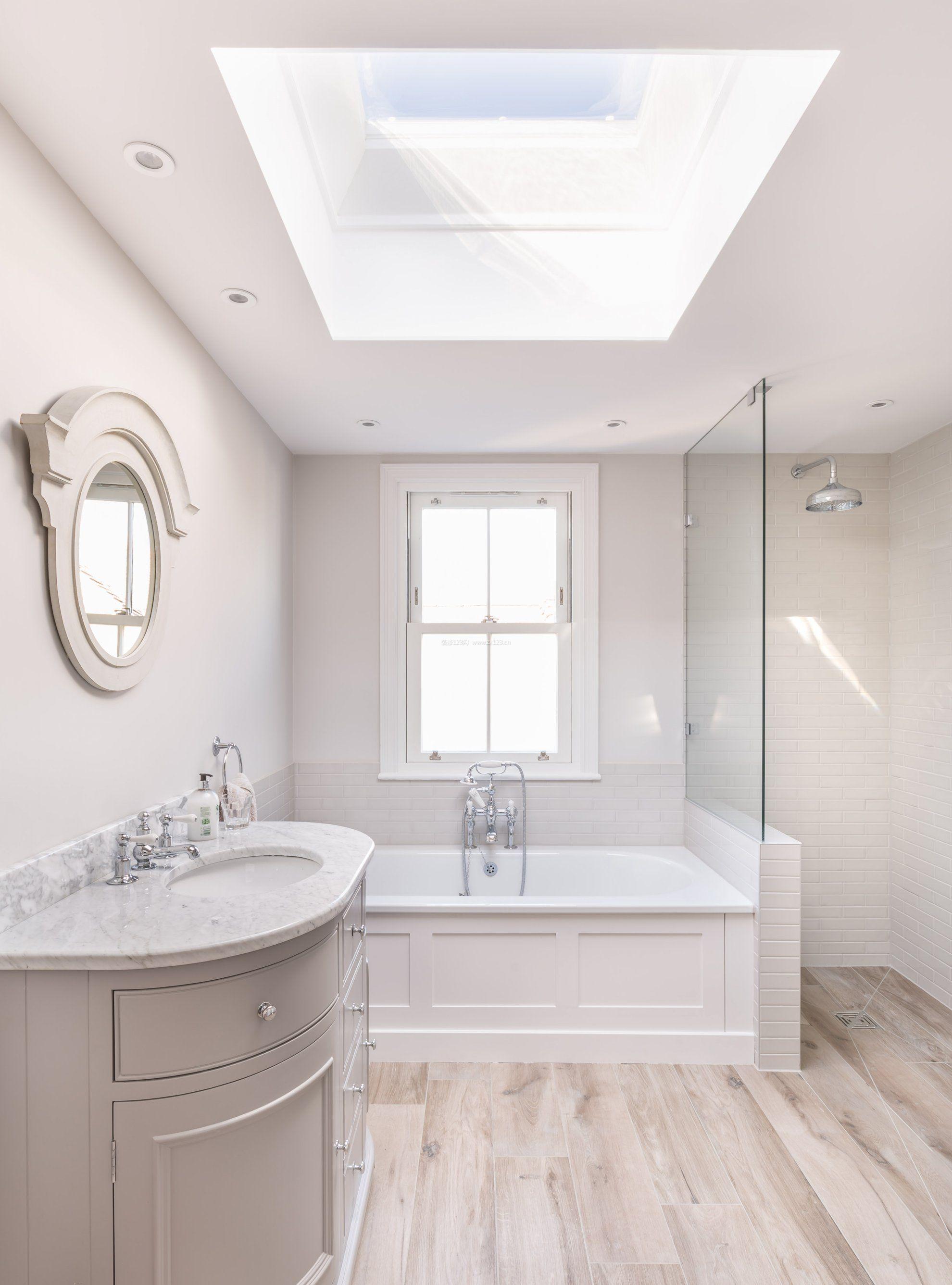小卫生间淋浴房天花板装修吊顶效果图片2017