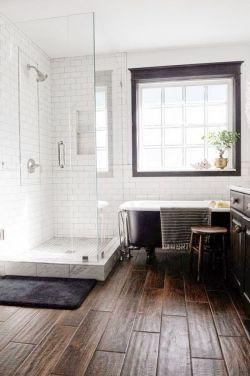 小衛生間淋浴房簡歐裝修效果圖片
