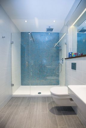 小卫生间淋浴房效果图片 2017长方形卫生间装修图片